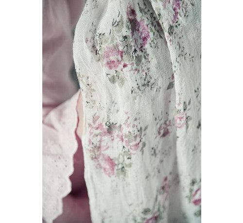Jeanne d`Arc Living Schal   Sweet temptations - White Rose