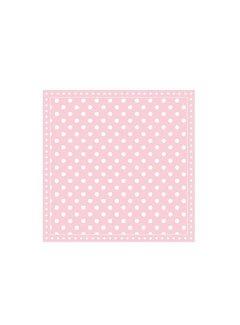 Servietten | Dots Pink | 25x25cm
