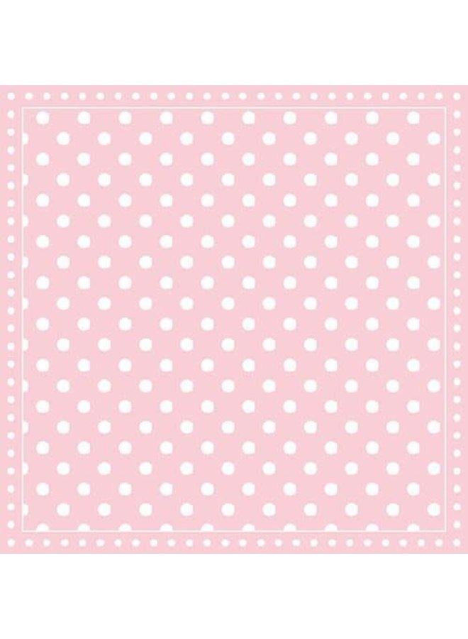 Servietten   Dots Pink   30x30cm