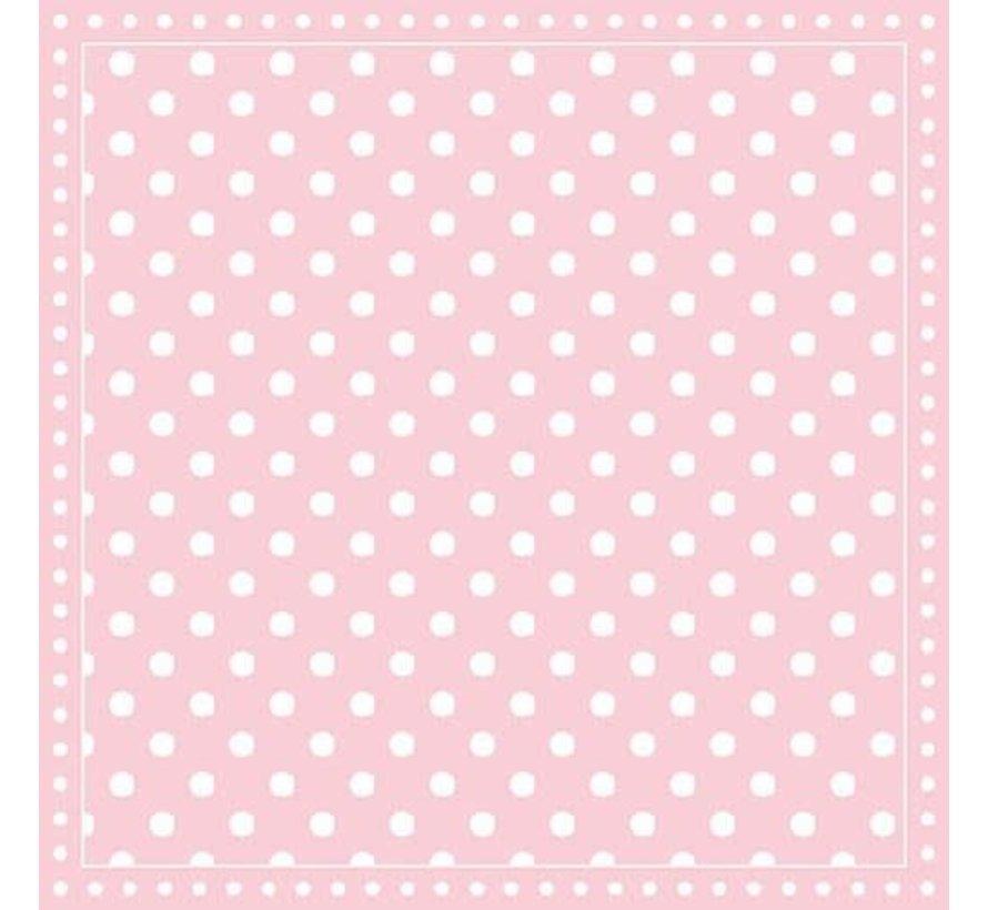 Servietten | Dots Pink | 30x30cm