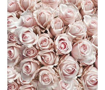 Servietten | Pastel Roses | 30x30cm - FSC