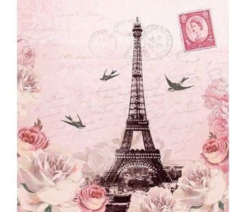 Servietten | Letter To Paris | 30x30cm - FSC