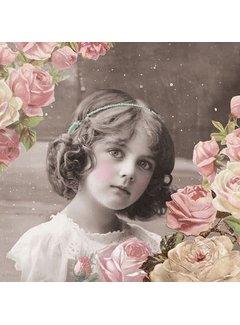 Servietten | Flower Girl | 30x30cm - FSC