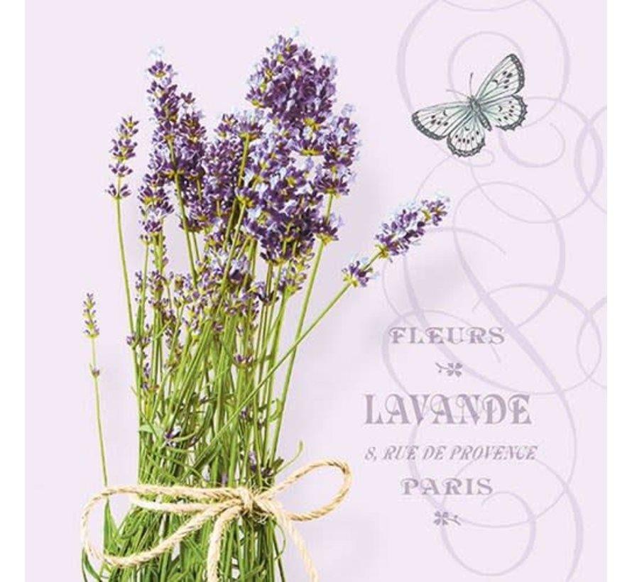 Servietten | Bunch Of Lavender Lila | 30x30cm - FSC