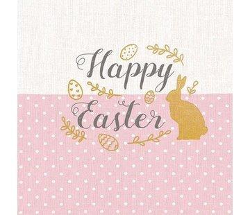 Servietten | Embroidery Easter Rose | 30x30cm - FSC