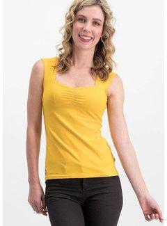 Blutsgeschwister Shirt | logo top romance uni - golden lantern