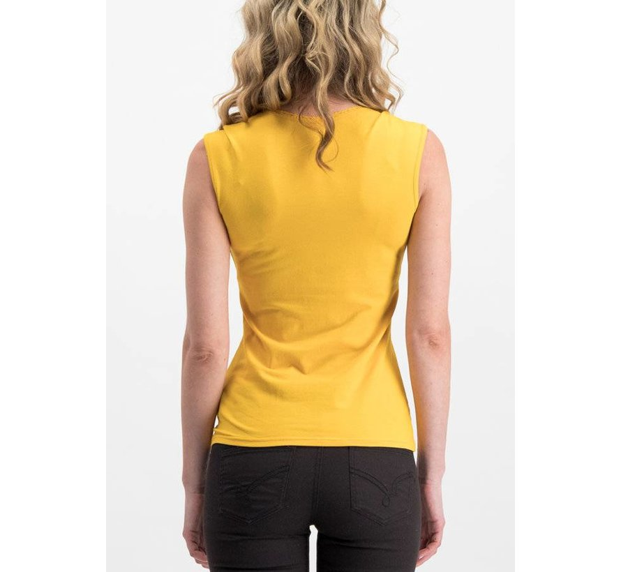 Shirt | logo top romance uni - golden lantern