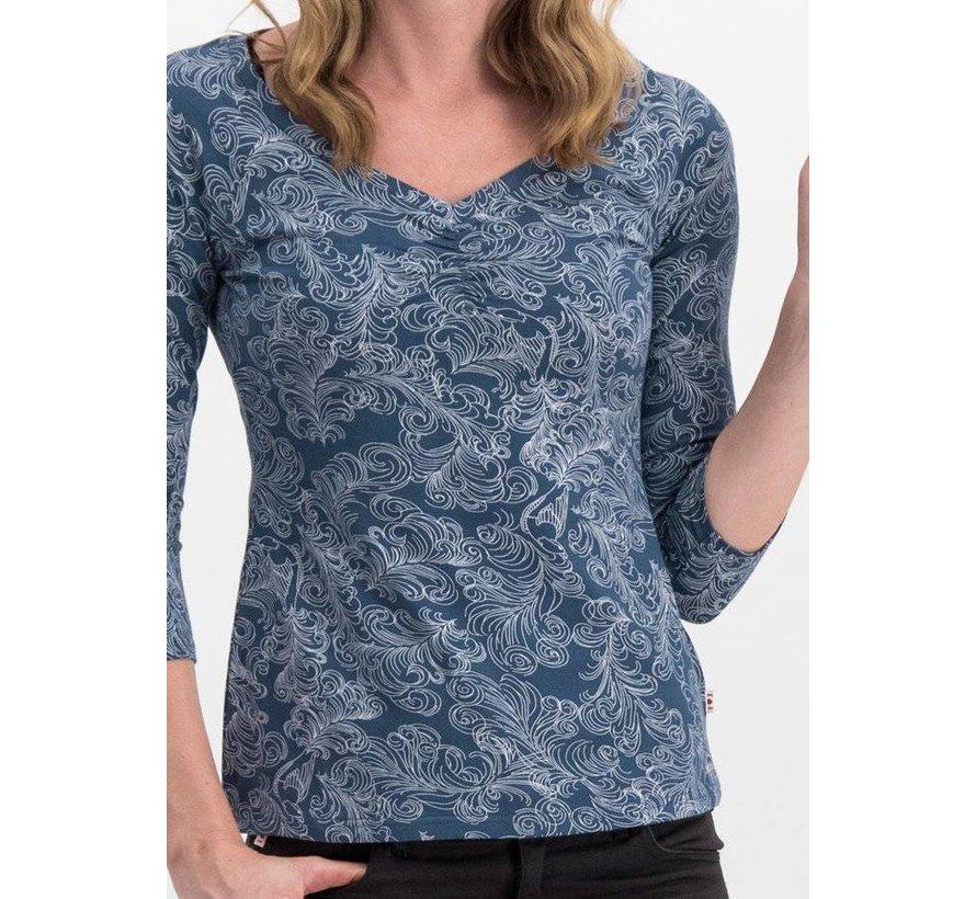 Shirt | so long betty shirt - fluffy feather