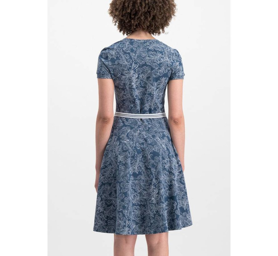Kleid | mze kze dress - fluffy feather