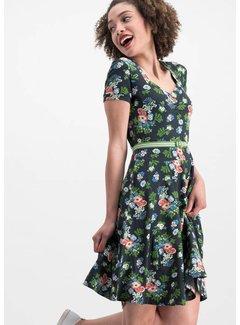 Blutsgeschwister Kleid | mze kze dress - vagabund flowers