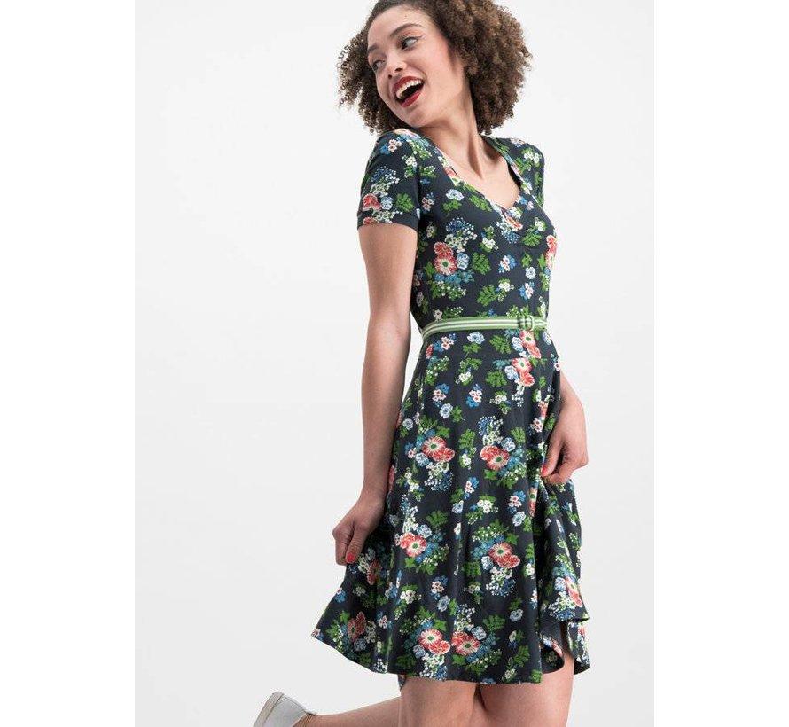 Kleid | mze kze dress - vagabund flowers