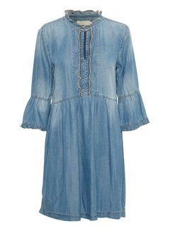 Cream Clothing Kleid | Delia denim dress - Light blue denim