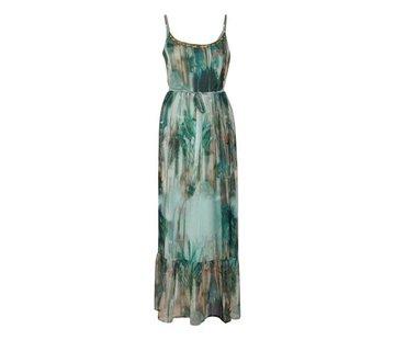 Cream Clothing Kleid | Jeanne Long Dress - Malachite Green