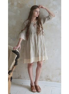 Jeanne d`Arc Living Kleid | Natural mind - Linen color