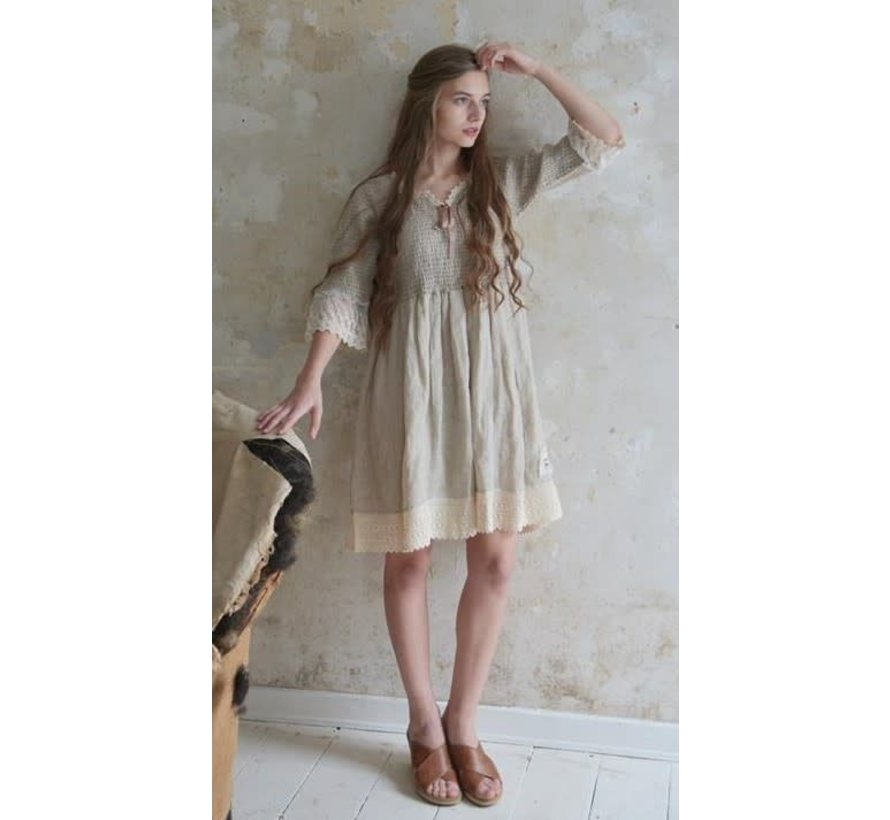 Kleid | Natural mind - Linen color