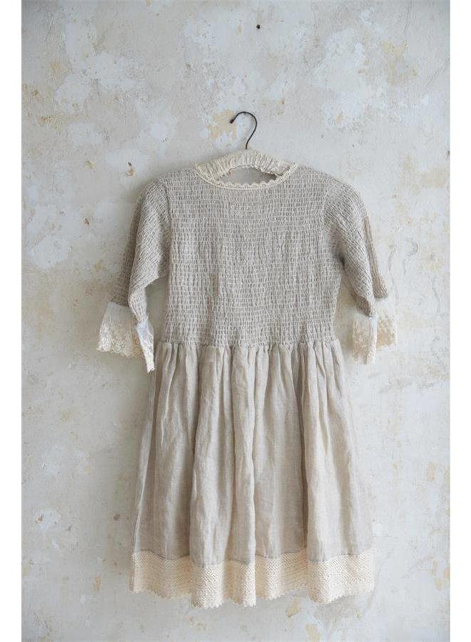 Kleid | Natural mind - Linen color