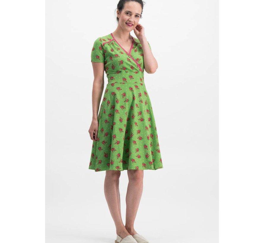 Kleid   polkamädel stuben dress - valley rose