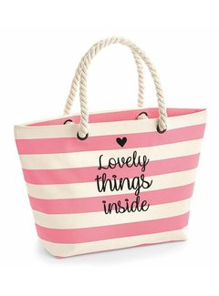 "Enchanté Strandtasche ""lovely things"" 