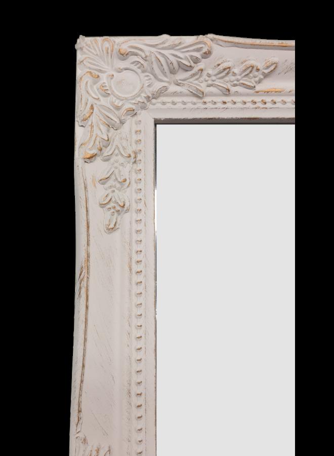 Spiegel Miro - Antikweiss-Gold - 36X46