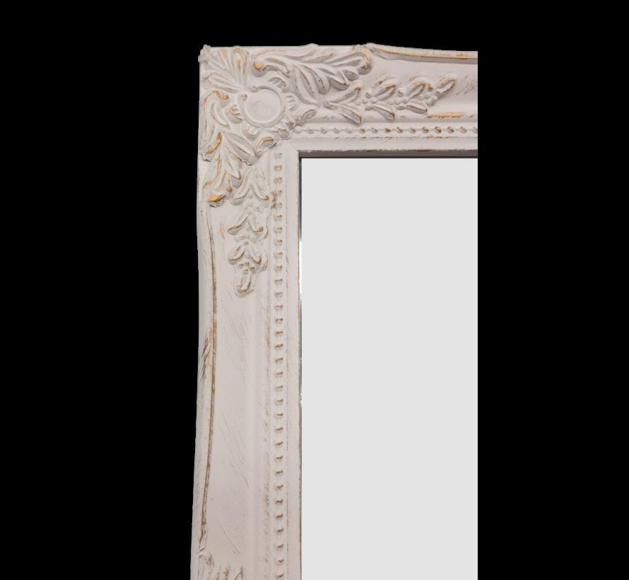 Spiegel | Miro | Antikweiss-Gold | 36X46