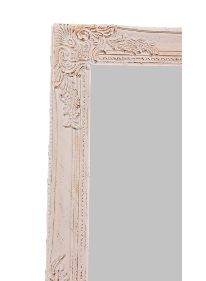 Spiegel Miro | Antikweiss-Gold | 62X82