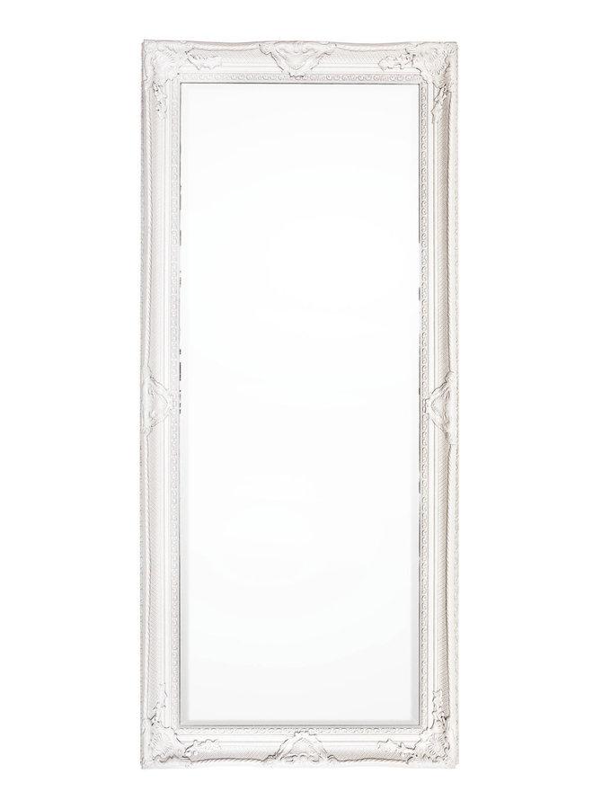Wandspiegel im Landhausstil in Creme - 80x180