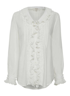 Cream Clothing Bluse | Kelly Blouse - Chalk