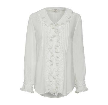 Cream Clothing Bluse | Kelly Blouse - Chalk