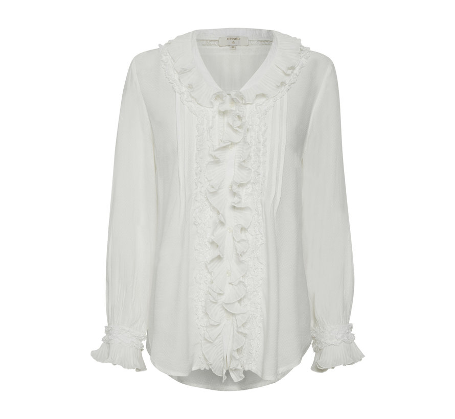 Bluse | Kelly Blouse - Chalk