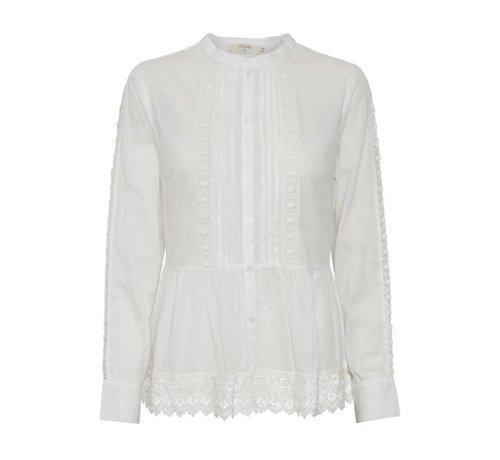 Cream Clothing Bluse | Noria Blouse - Chalk