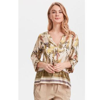 Cream Clothing Bluse | Monique Blouse - Sunshine Rose