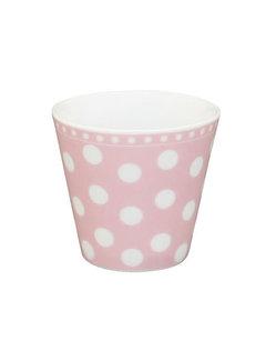 Krasilnikoff Espresso Tasse   Happy Mug-Pink Dot