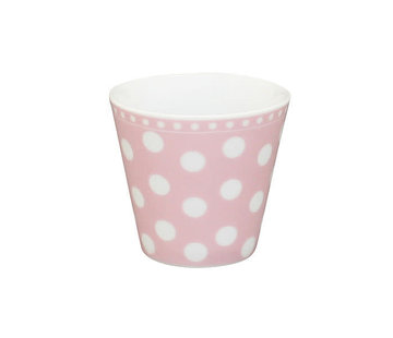 Krasilnikoff Espresso Tasse | Happy Mug-Pink Dot