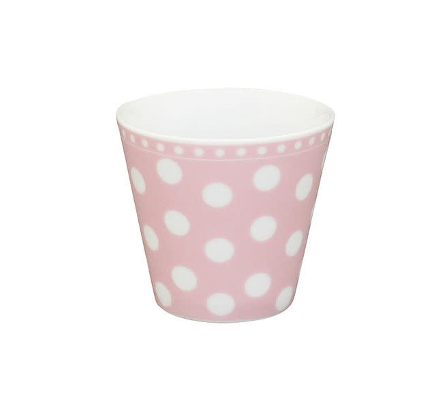 Espresso Tasse   Happy Mug-Pink Dot