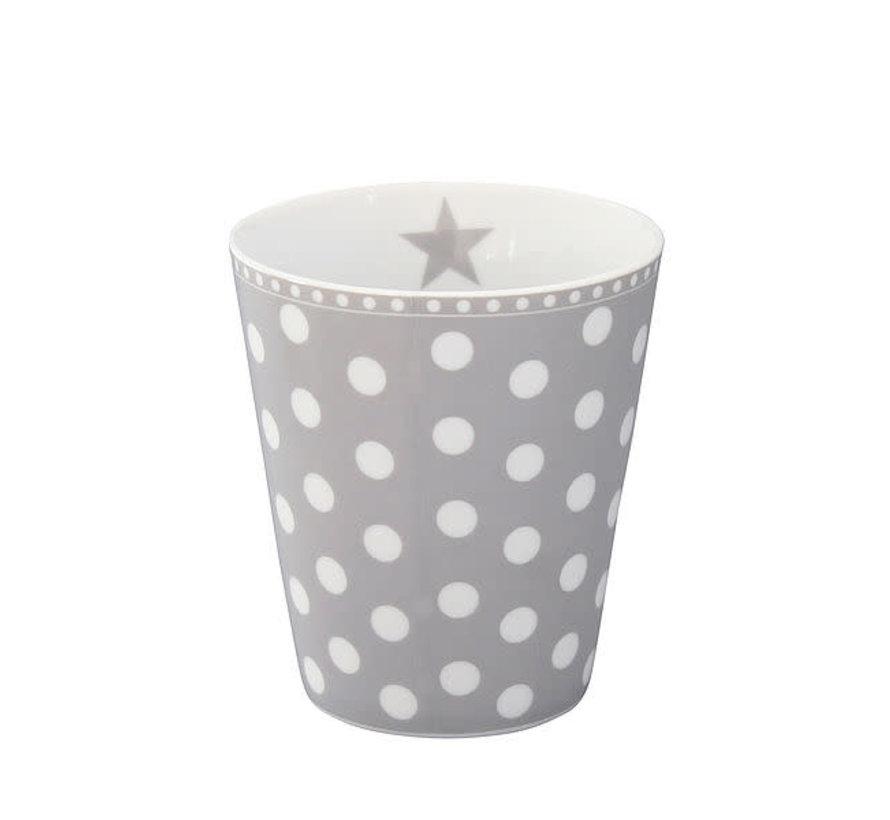 Tasse | Happy Mug-Grey Dot