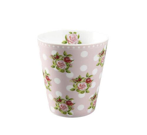 Krasilnikoff Tasse | Happy Mug-Dots n`Roses