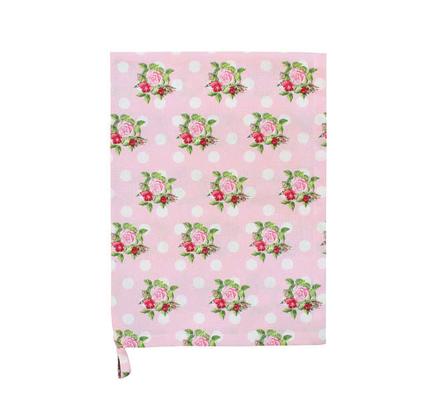 Küchentuch | Tea Towel-Dots n`Roses