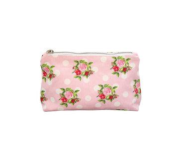 Krasilnikoff Kosmetiktasche | Cosmetic Bag-Dots n`Roses