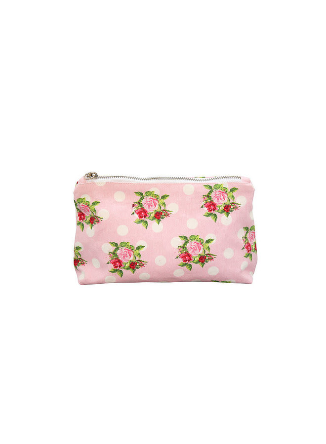 Kosmetiktasche | Cosmetic Bag-Dots n`Roses