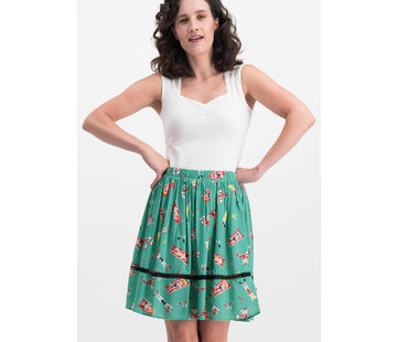 Blutsgeschwister Rock | summerbreeze daydream skirt - bathing beauty