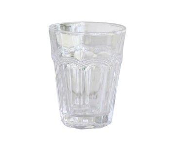 Chic Antique Antoinette Trinkglas | mit Perlenkante | H11-weiss