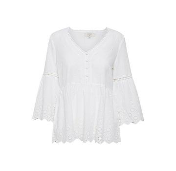 Cream Clothing Bluse | Anais Blouse - Chalk