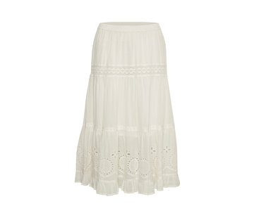 Cream Clothing Rock | Claire Skirt - Chalk