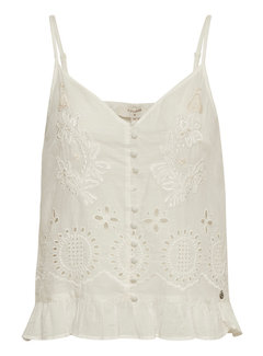 Cream Clothing Top | Claire Topt - Chalk