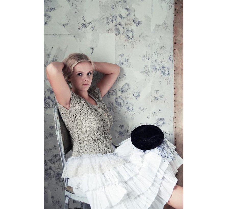 Bluse | Sweet Vintage - Beige | Grösse XS-S