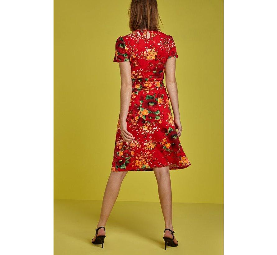Kleid | Cecil Dress Splendid - Fiery Red