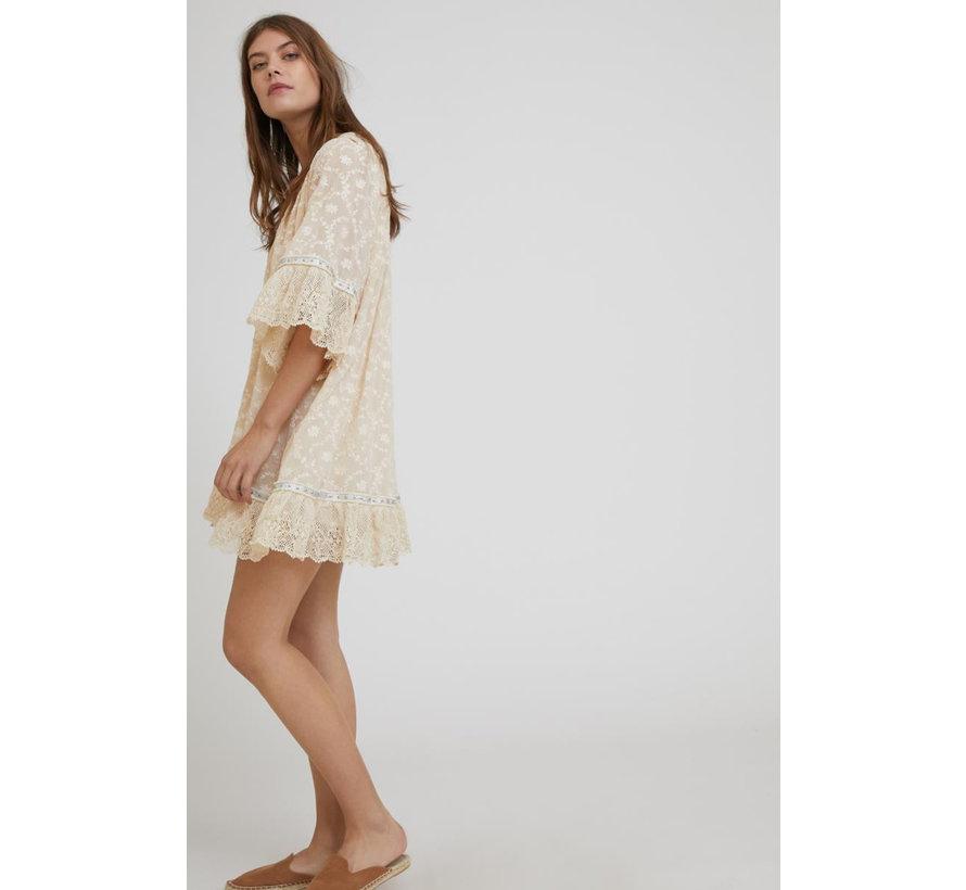 Kurzes Kleid | Taz - ivory