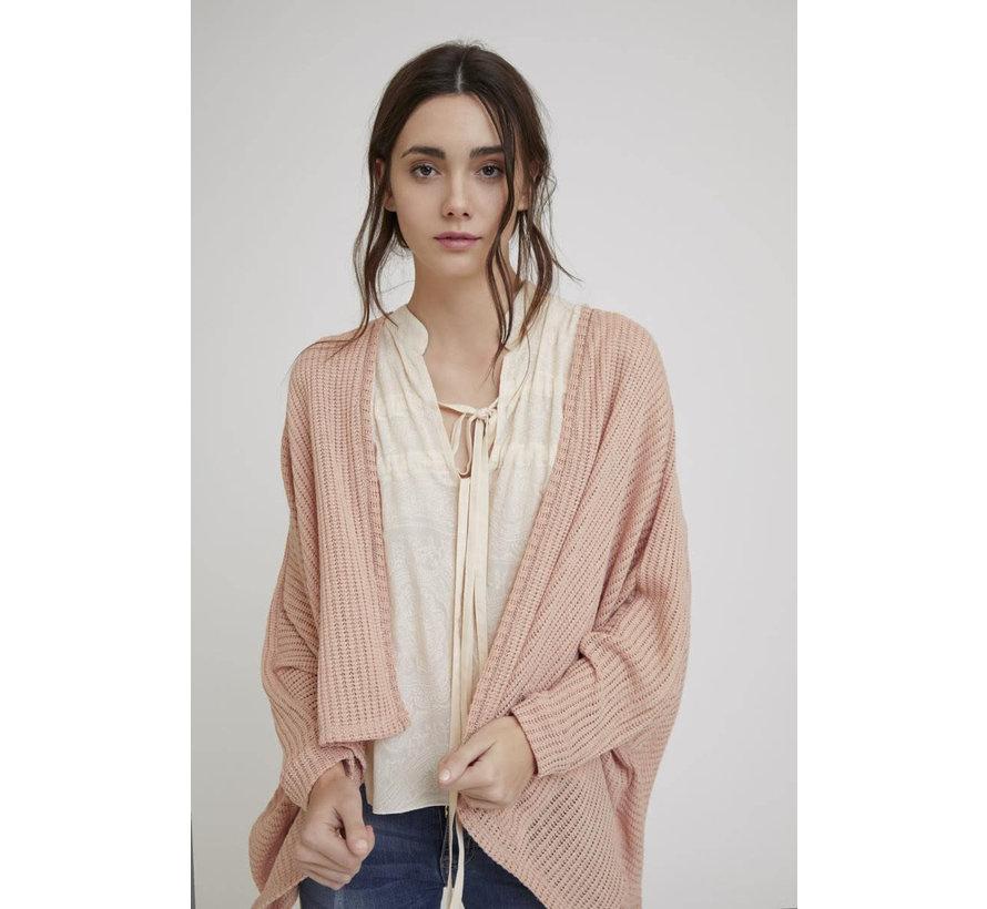 Strickjacke   Kolyma - blush
