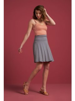 King Louie Rock | Circle Border Skirt Mayfair - Moonlight Blue