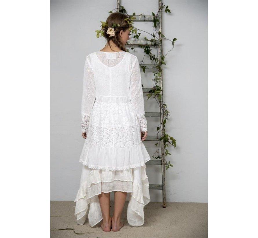 Tunika - Delightful past - White